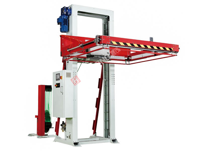 Fully automatic horizontal pallet baling machine TP-713H Castor II