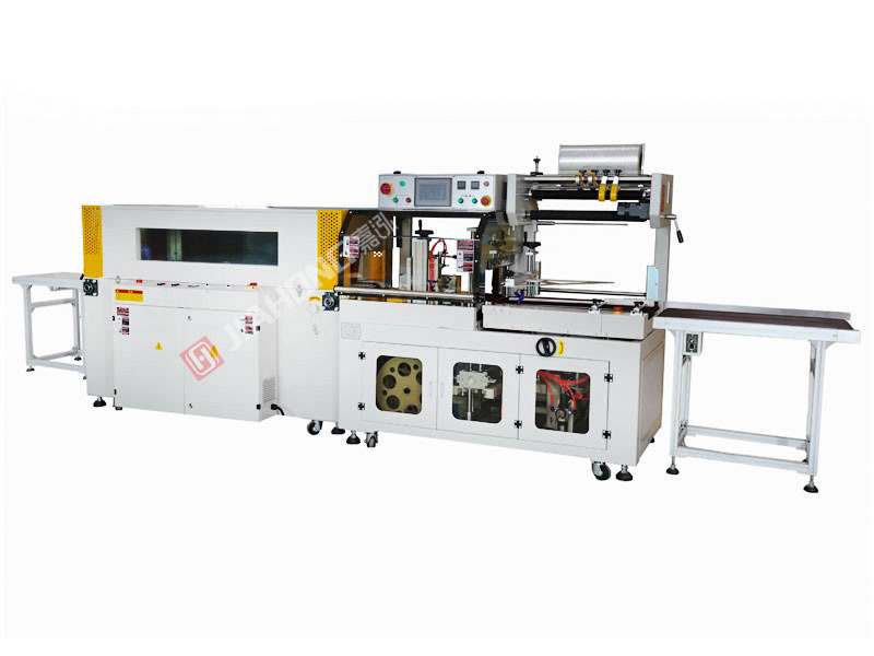 Automatic side sealing heat shrinkable packaging machine JH-5545+JH-5030