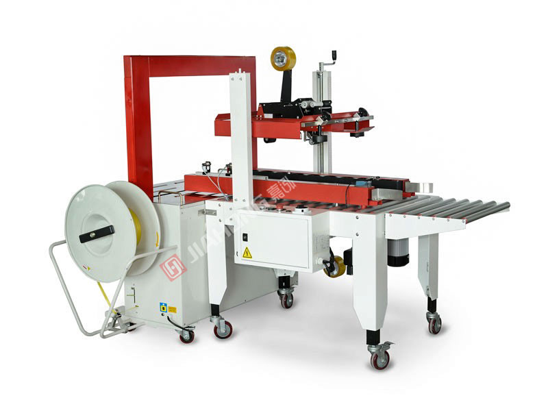 Automatic case sealing + packing machine