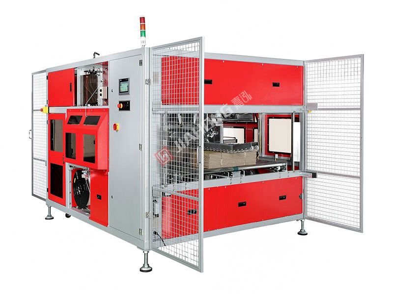 High speed full-automatic corrugated box packer jh-cil (double end baling)