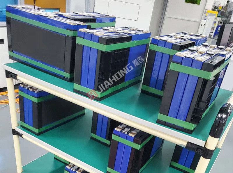 Battery packaging cases of BYD and Desai