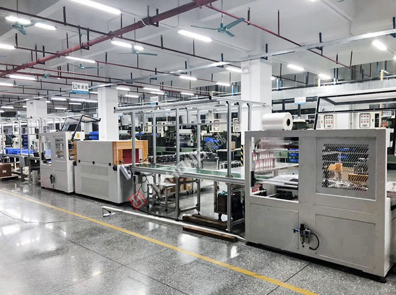 Foxconn packaging line