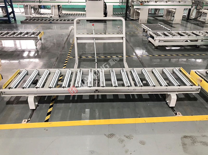 Logistics packaging line